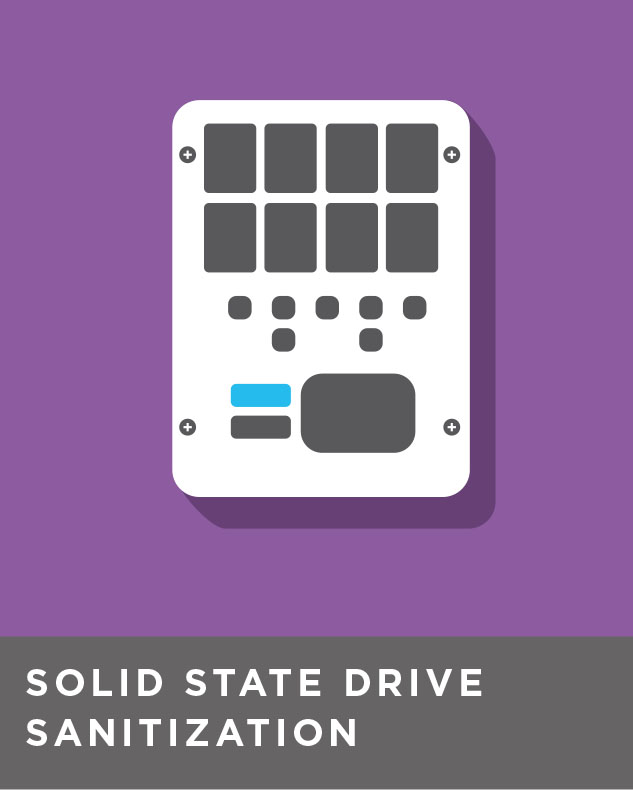 Solid state drive sanitization