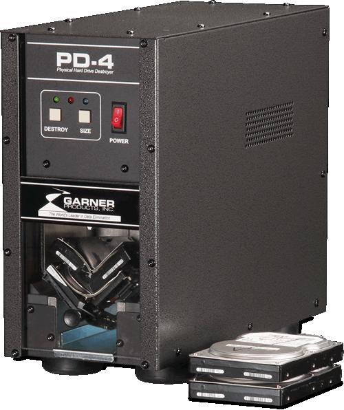 PD-4 Hard Drive Crusher