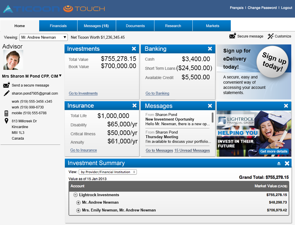 TicoonTouch (pictured above) isan independent consumer portal.