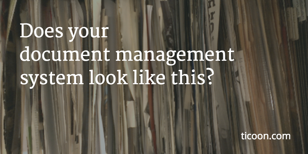 """Does your """"document management"""" system look like this?"""