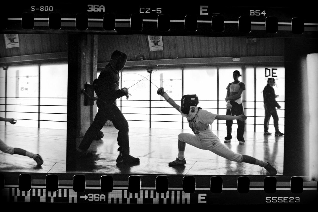 Once upon a time in fencingland. Oscar Arribas © 2006.    www.oscararribas.com / www.moodstudio.es