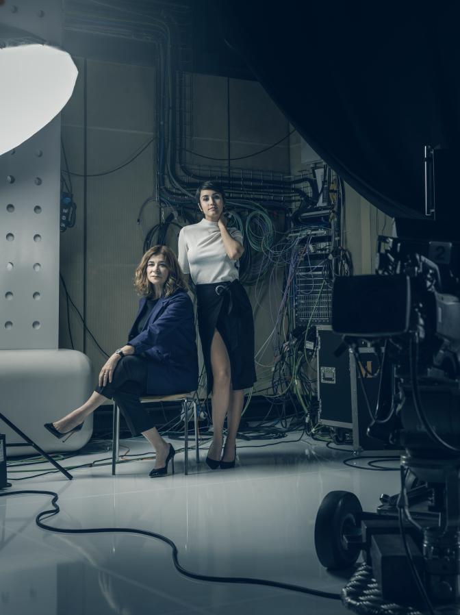 Sonia Martínez & Megan Montaner
