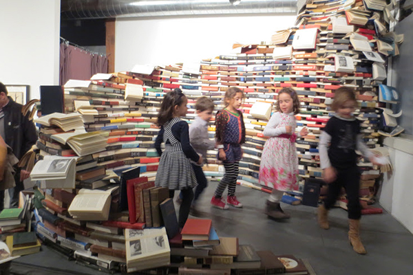 Hitting the books:Root Divsion's past XLibris Exhibition