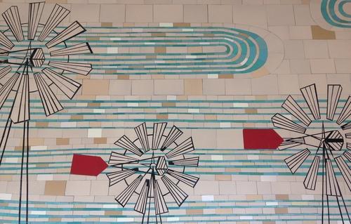 SF Rec Center Mosaic Wall