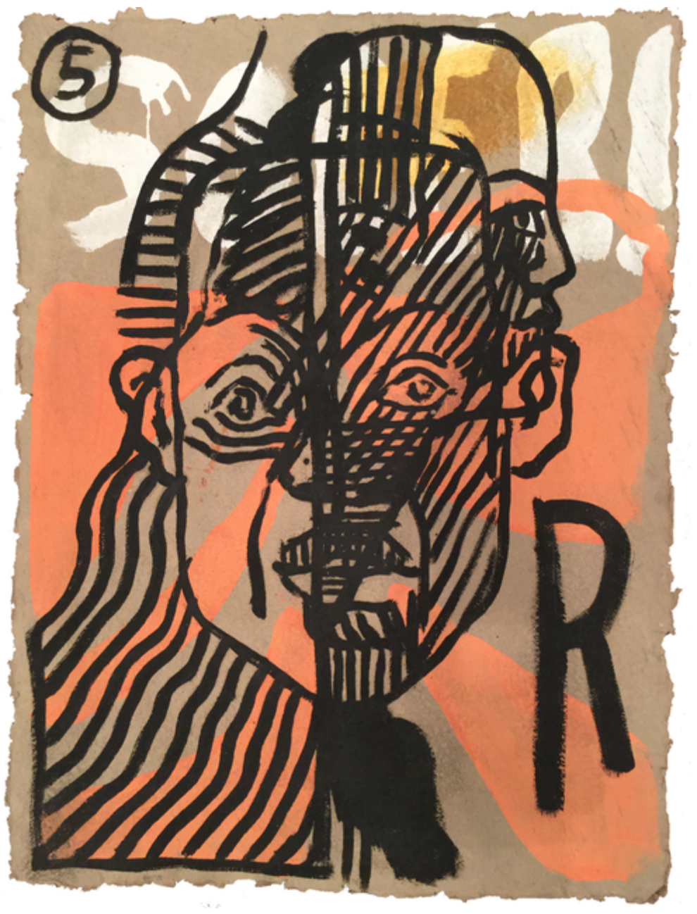 Portrait Series No.5, Francisco Vidal GALLERY: Tiwani Contemporary