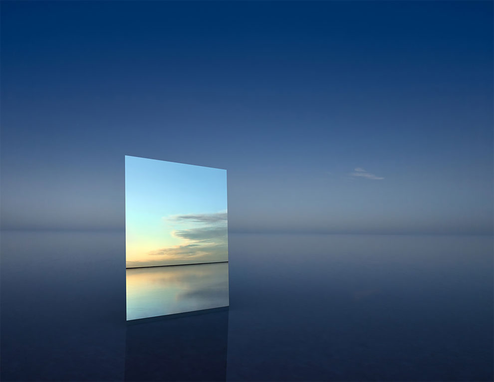 MIRROR 11 by Murray Fredericks