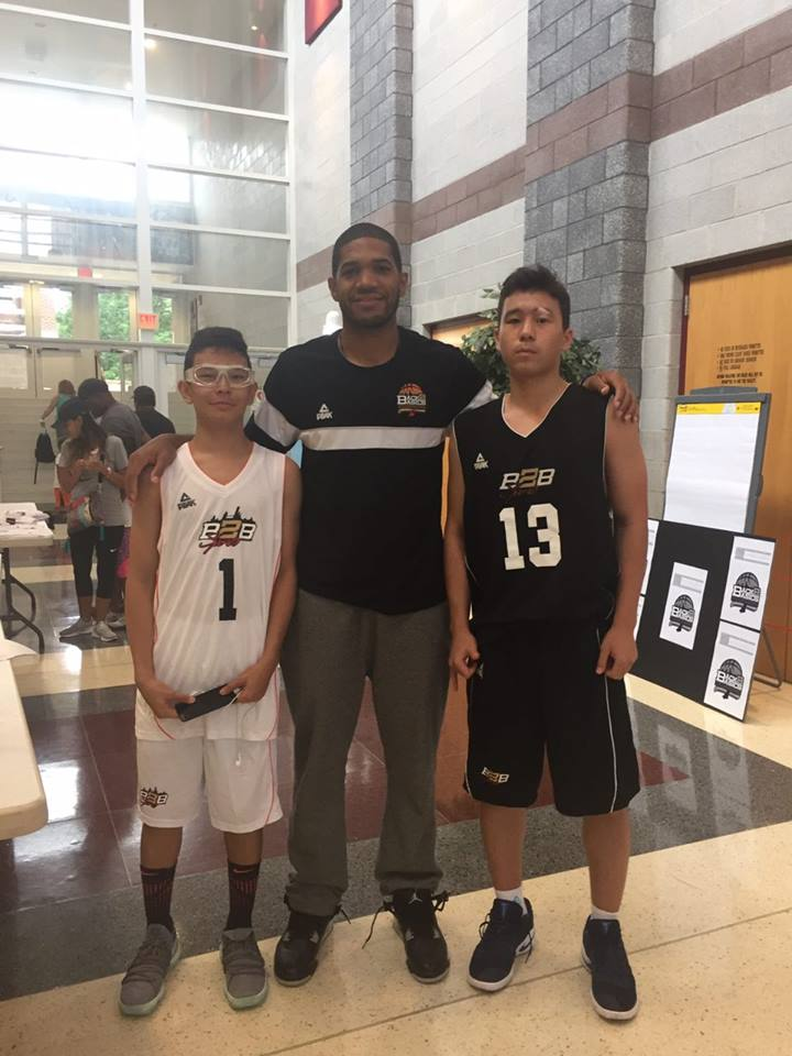 Dustin Salisbery _ Former Temple University Graduate, member of Temple Basketball Team & currently 10 year Pro international basketball. Accompanied by 2 of Basketball Guest From Kazakhstan taking part in Hoops Fest 2k17 At thaddeus Stevens College.