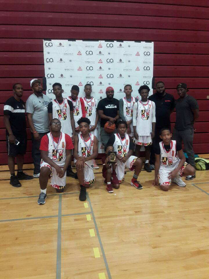 Team From Baltimore Maryland Represented There Terps Well. First Place Finish 14u . Great Job Guys.