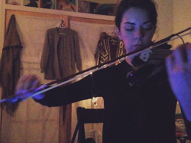 Been writing and recording some string arrangements for @spacefacemusic! So exciteeeeed!! ✨🎻👽🔮✨