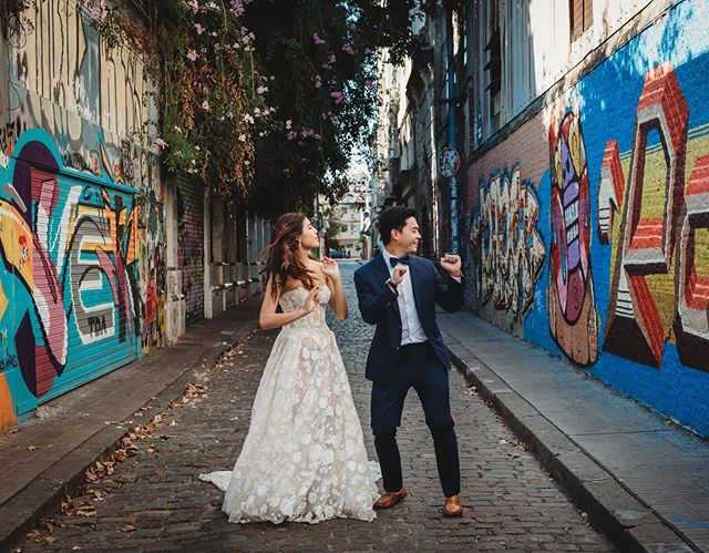 You can never go wrong with an impromptu dance party mid session. So much fun with these two! @lmn288 Shot for @flytographer #justdance #urbanphotography #weddingdress #weddingphotography #couplesgoals #buenosaires #buenosairesphoto #palermosoho #weddingbells #urbanphotography #cobblestone #graffiti #honeymoondestination #travel #couples #igbuenosaires #lookslikefilm