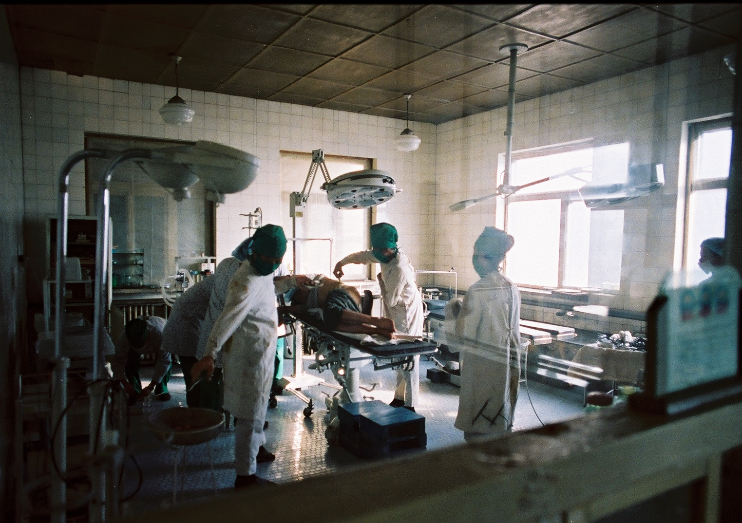 Surgery in Hadan, North Korea