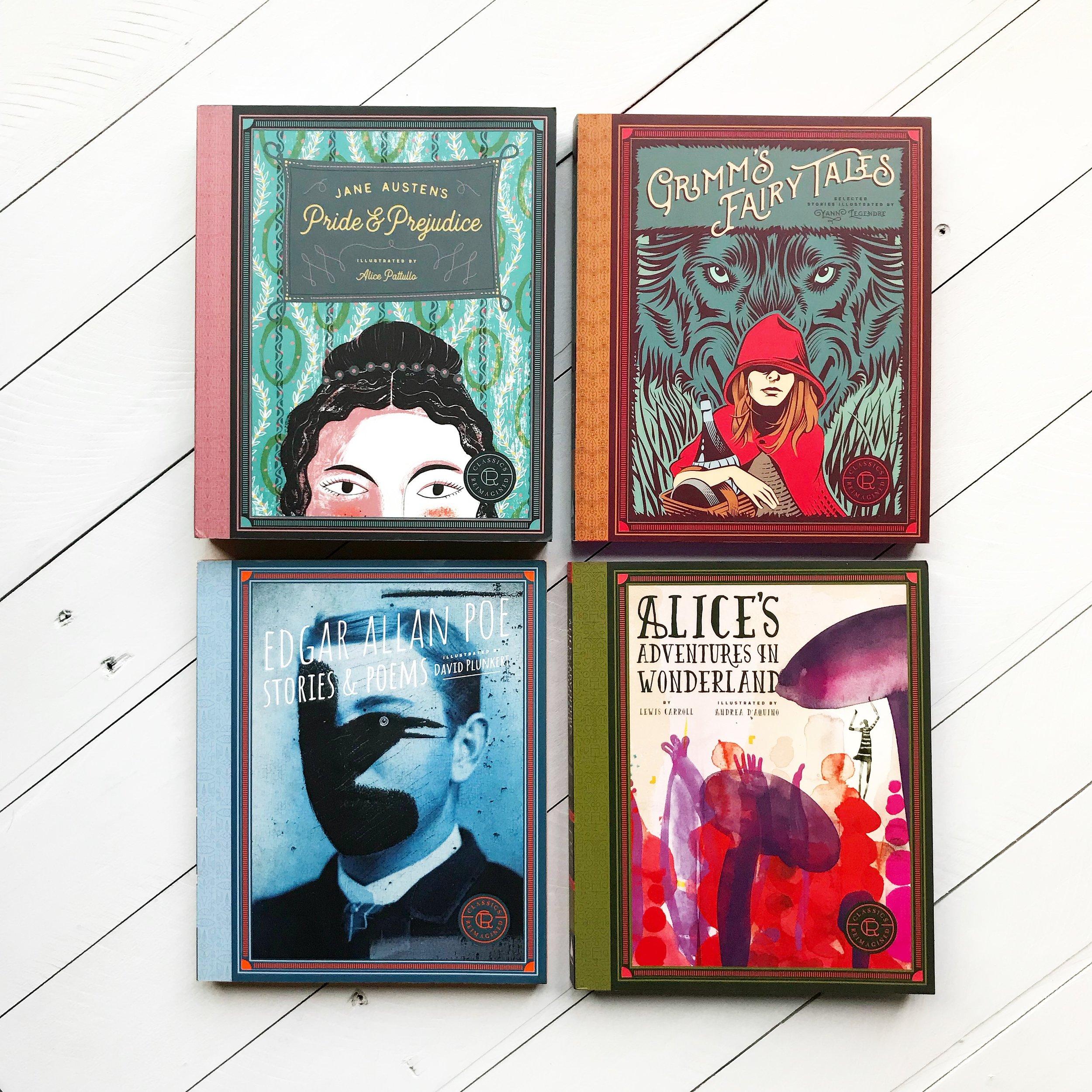 Classics Reimagined Paperbacks 2.JPG