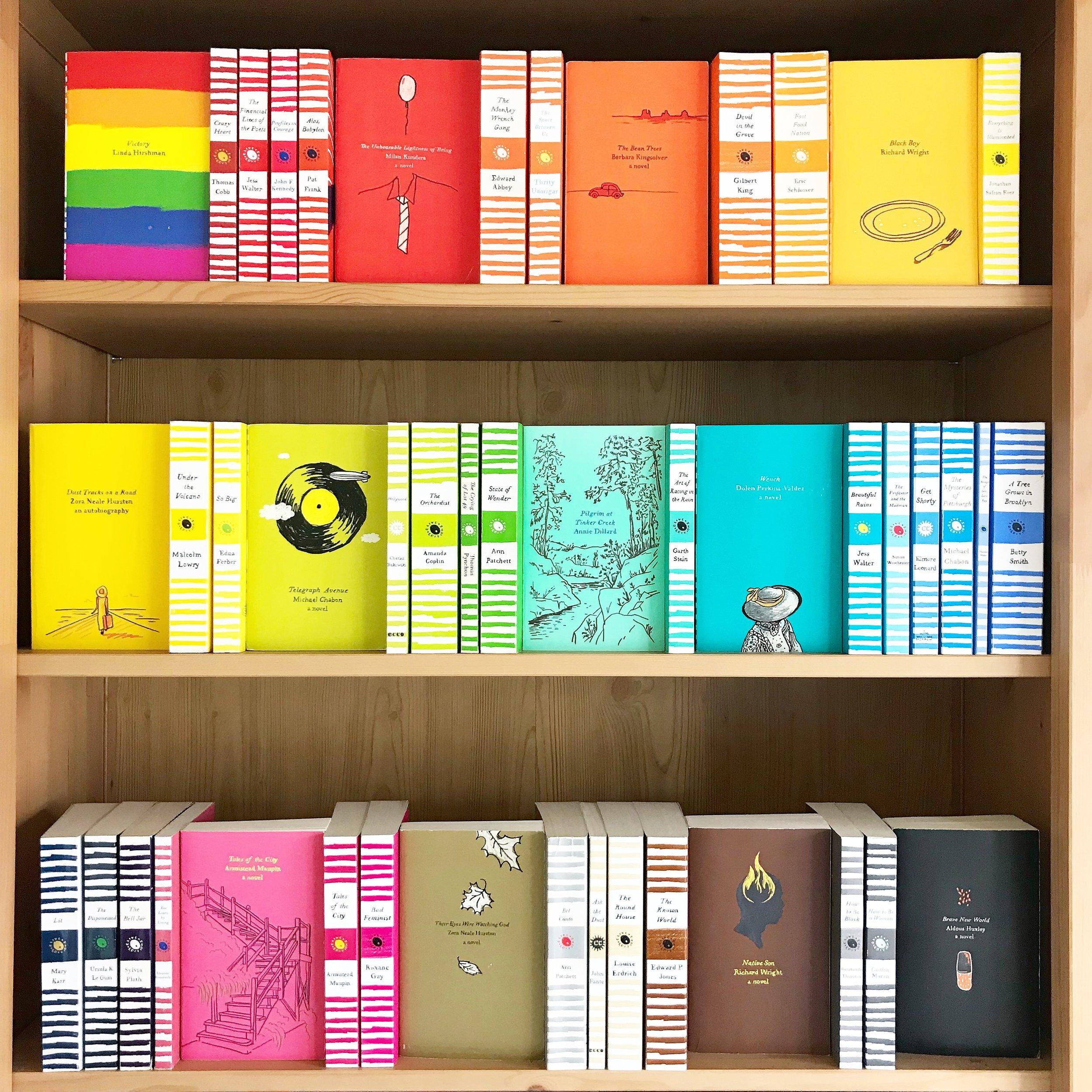 Harper Perennial shelfie.JPG