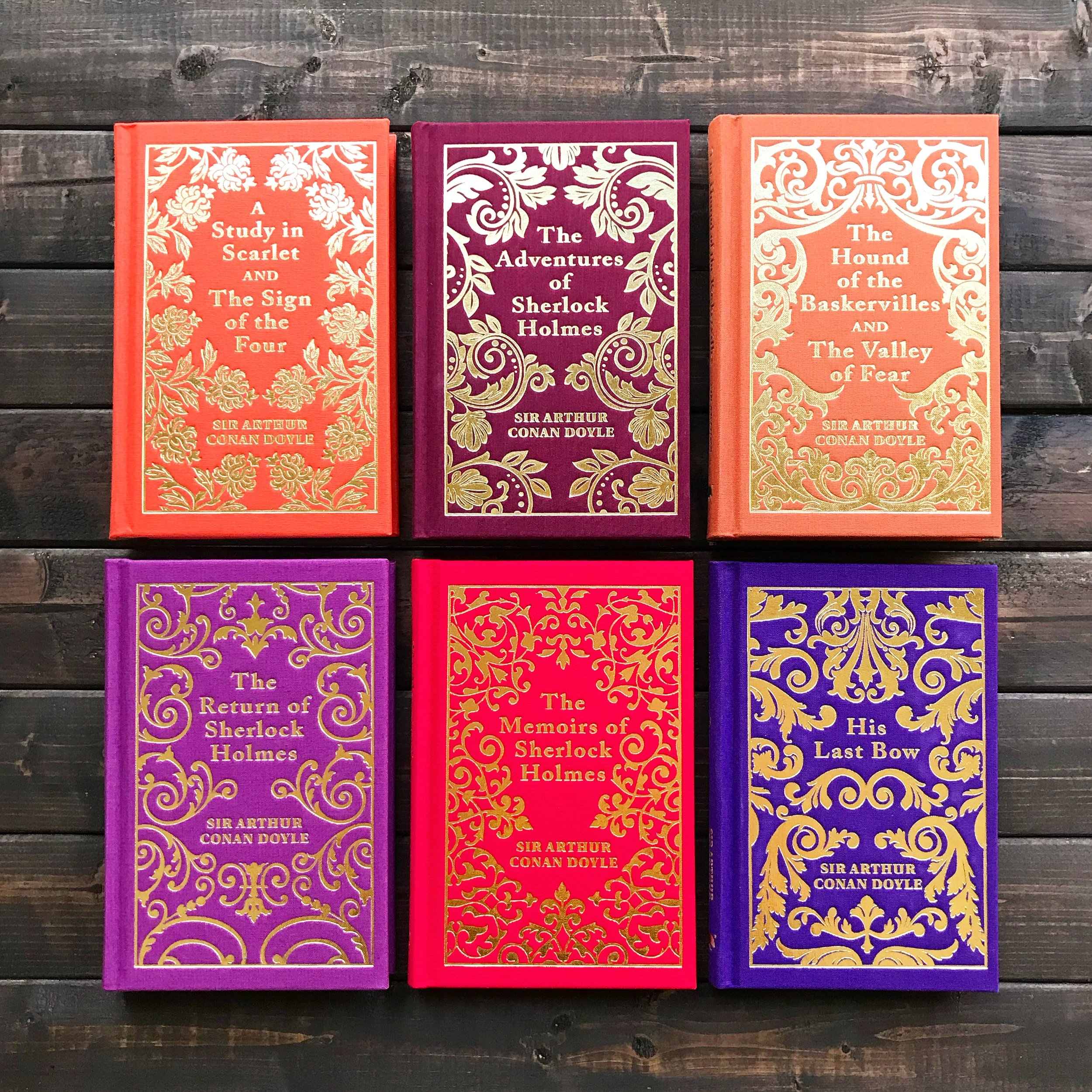 Arcturus Sherlock Holmes Boxed Set -