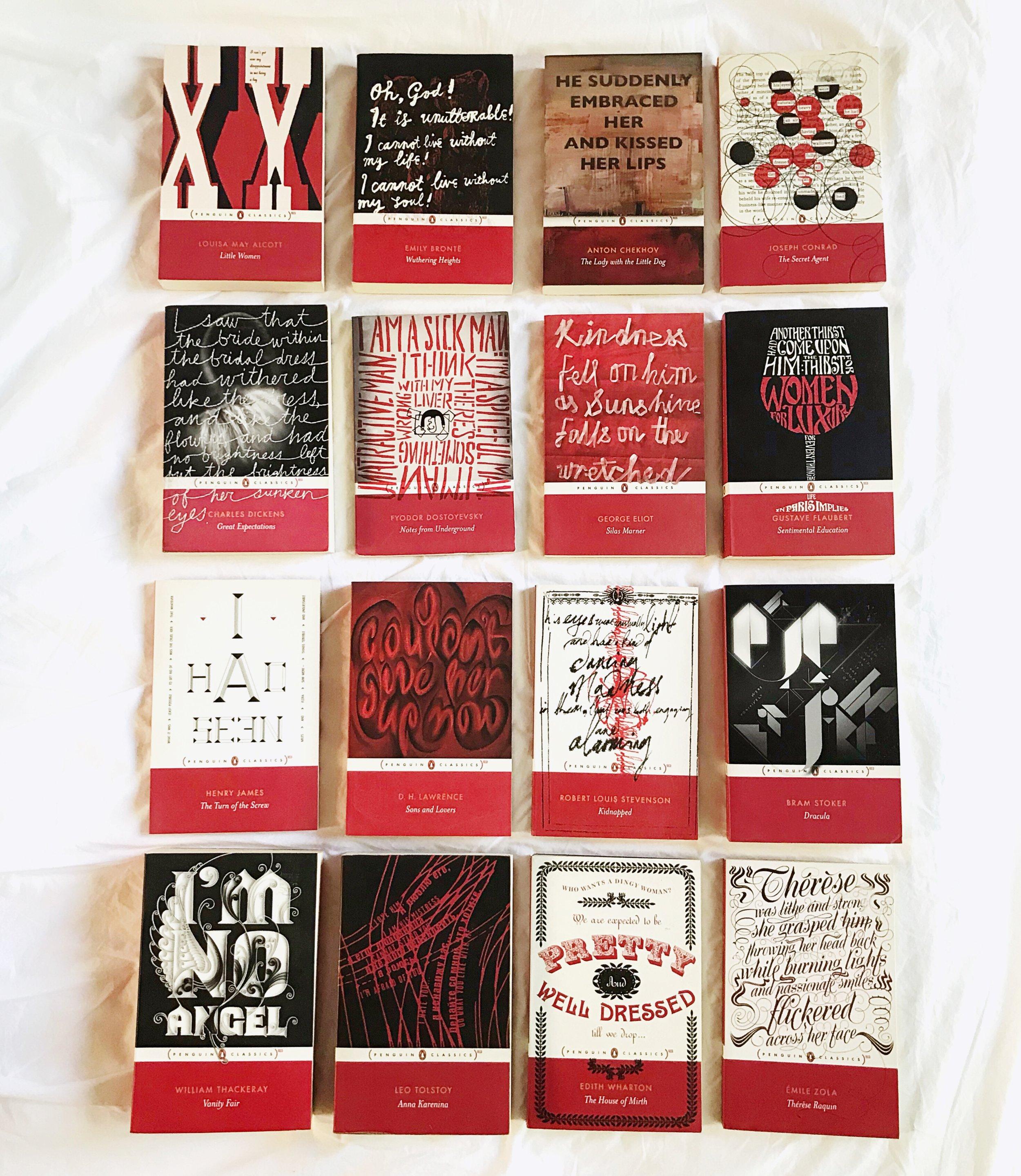 Penguin Classics: Red -