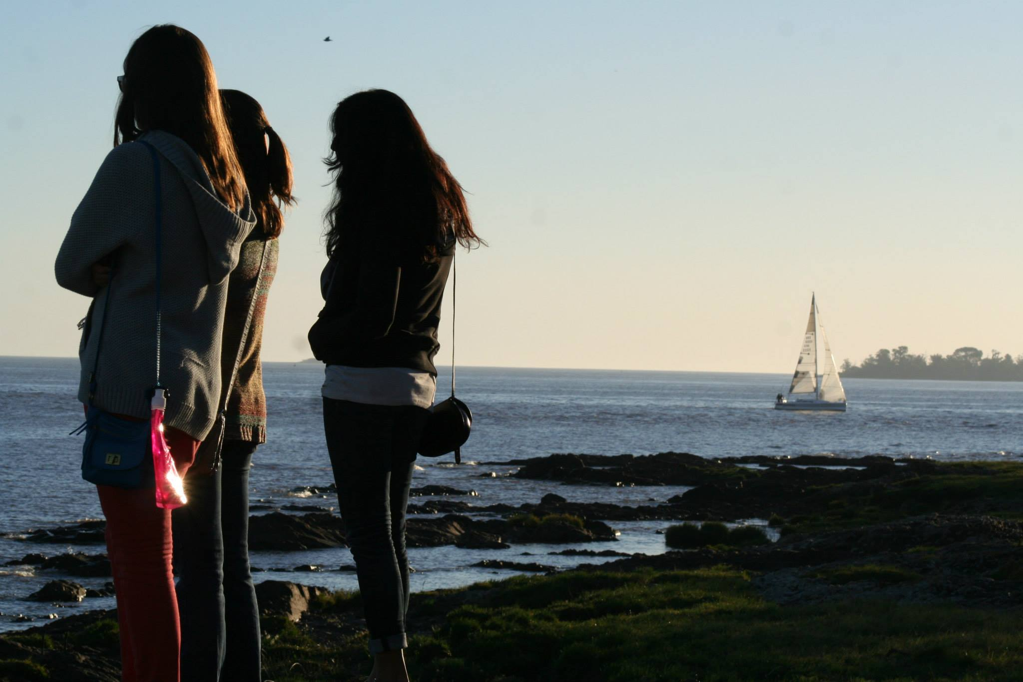 Me, Sheridan and Vimi in Colonia, Uruguay.   Photo Cred: Sam Maher