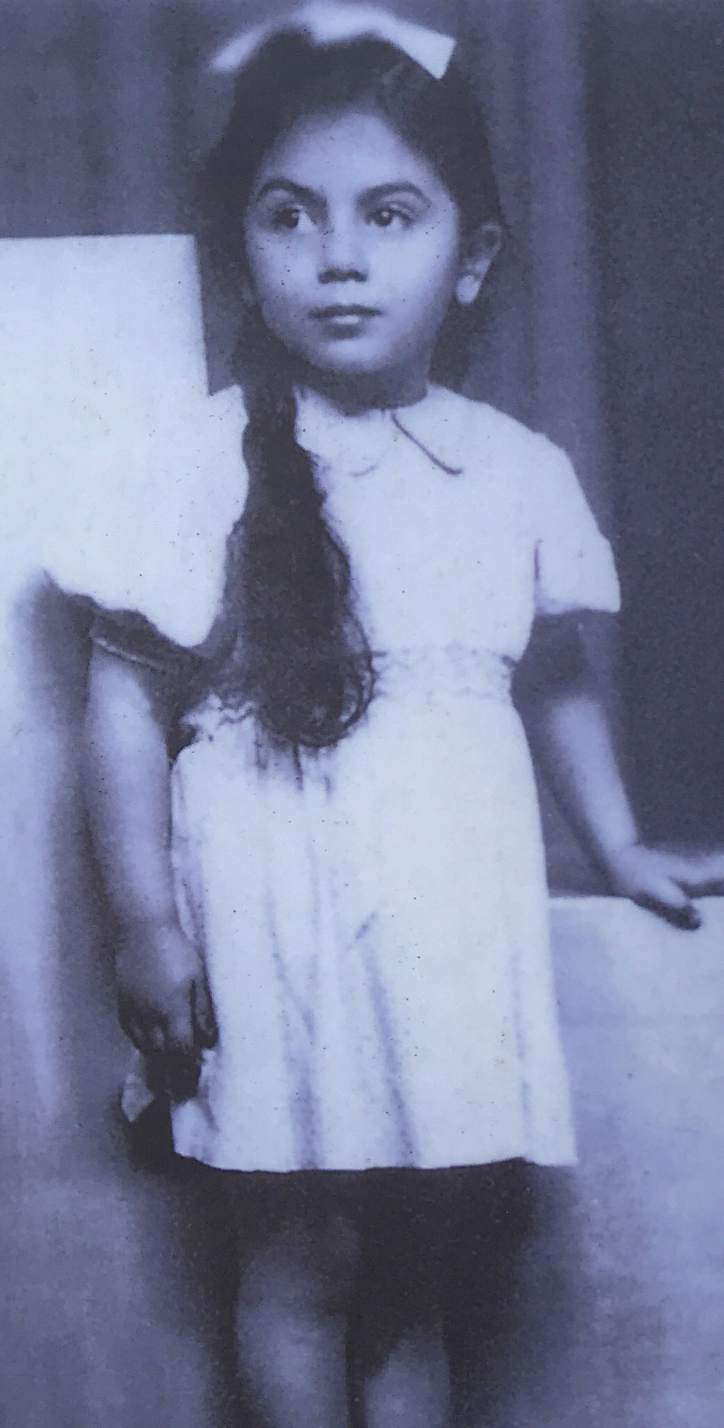 Young Stella, before she was imprisoned at Ravensbrück.