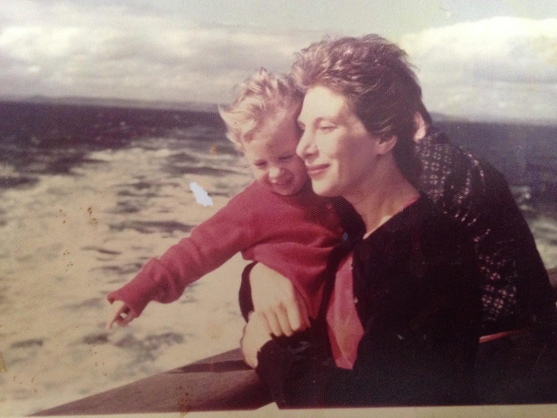 My mom and I on the Liberté, an ocean liner we took when we lived in Italy. I was 2.