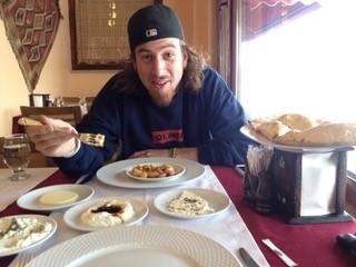 Josh traveled to Turkey with me.