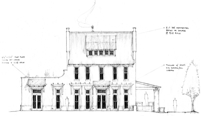 "Maas ""Concept"" House South Main Neighborhood"
