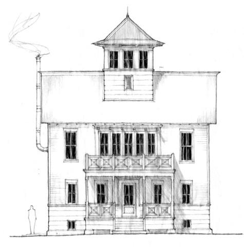 "Lacy ""Concept"" House South Main Neighborhood"