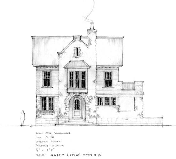"""Cavanagh """"Concept"""" House South Main Neighborhood"""