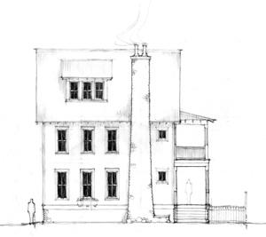 "Miller ""Concept"" House South Main Neighborhood"