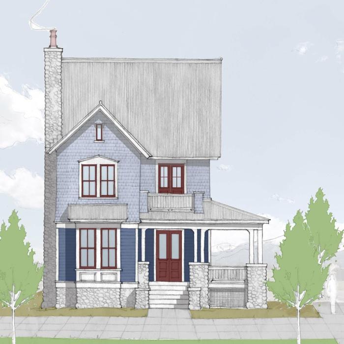 "CDS 1775 ""Concept"" House South Main Neighborhood"