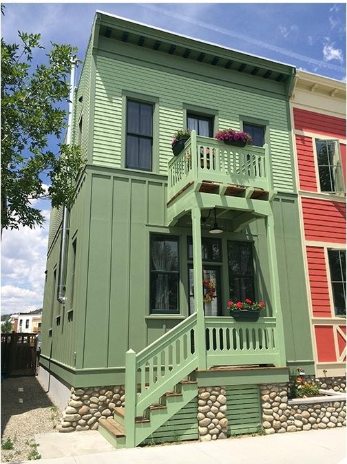 Schroeder Row House South Main Neighborhood Buena Vista, Colorado