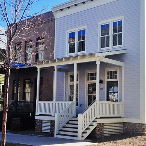 Geeraert Row House South Main Neighborhood Buena Vista, Colorado