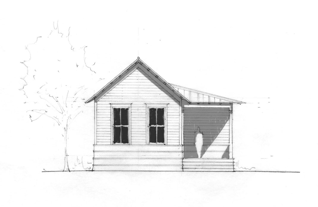 Island Cottage  DPZ Masterplan - Tulsa Oklahoma