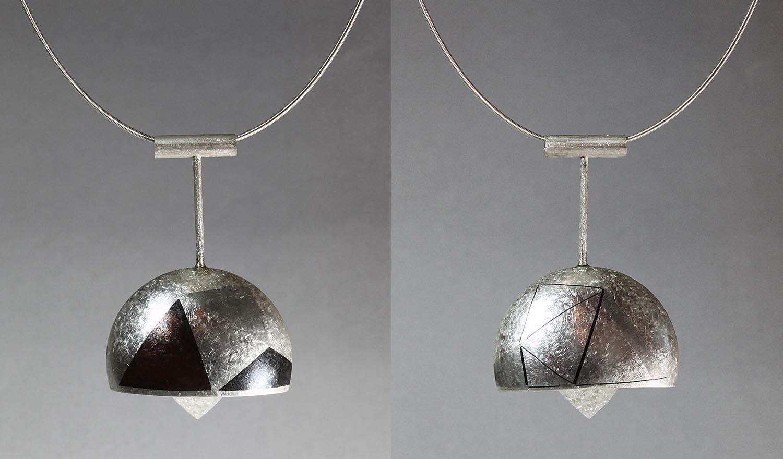 Fractal Pendant - front and back