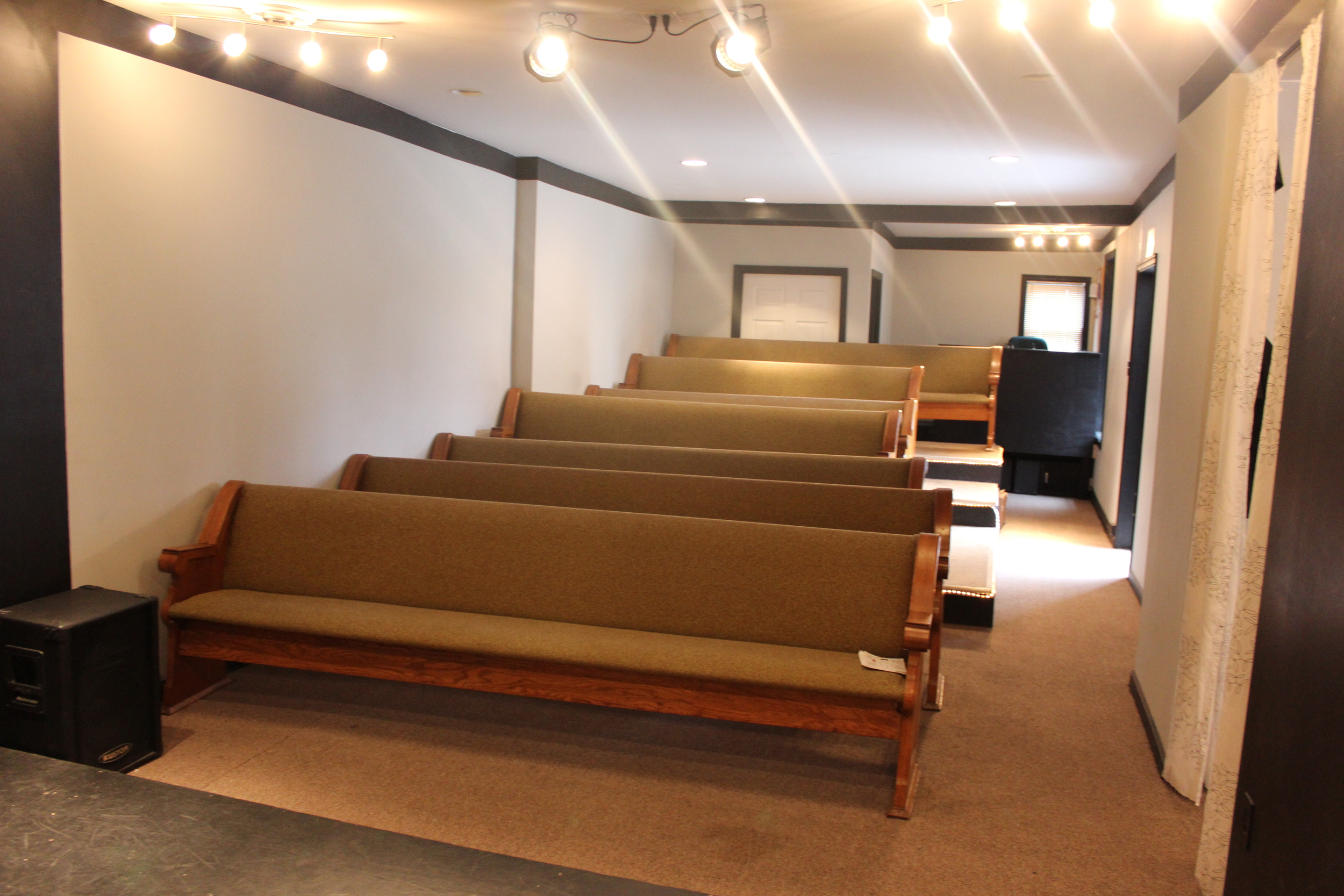 Audience seating area