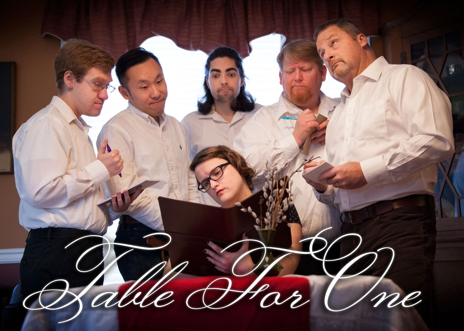 House team Table For One takes the stage to perform the classic long-form improvisational format The Harold!