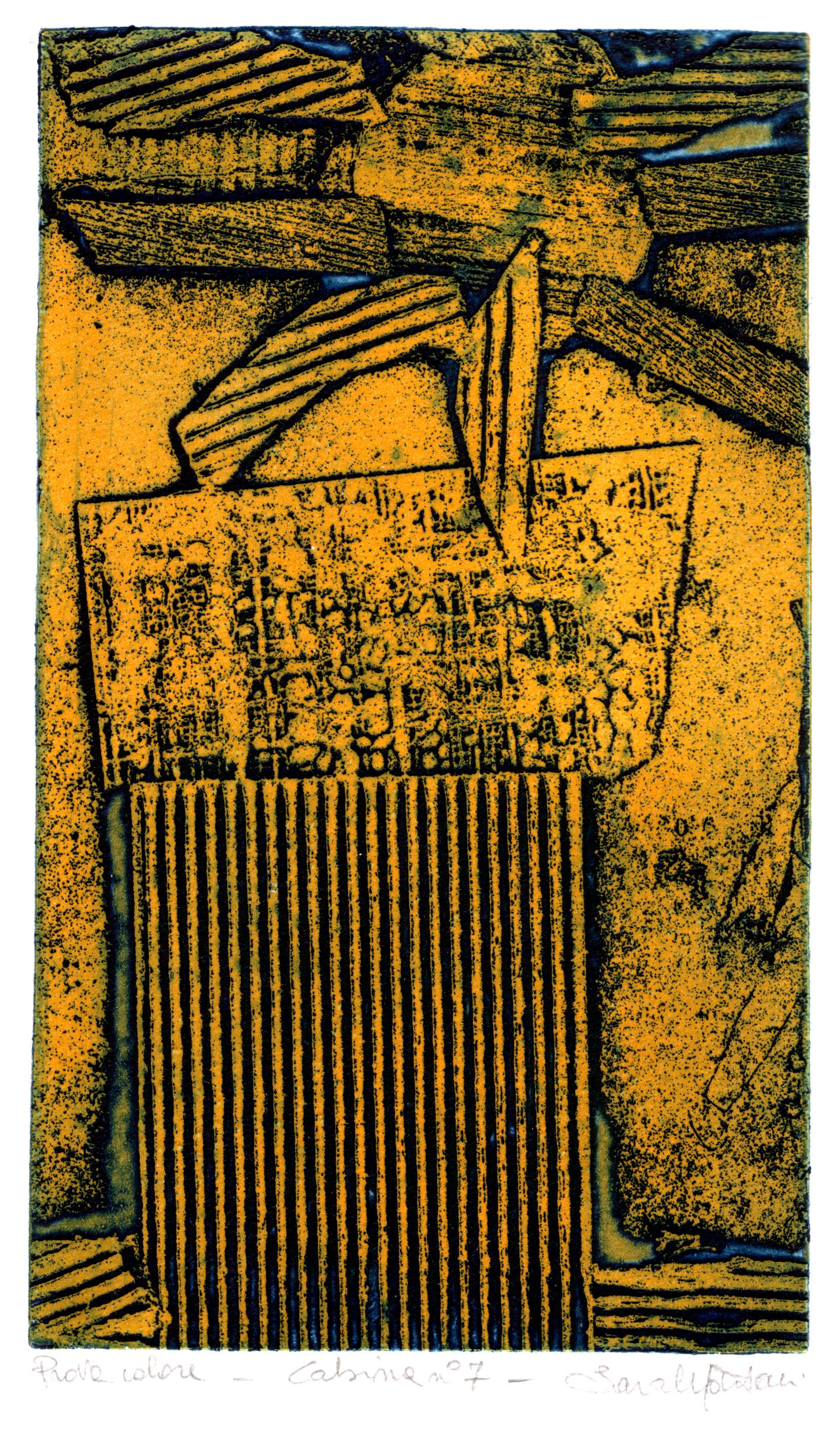 Cabina n°7,2006 acquaforte su ottone 21x13.jpg