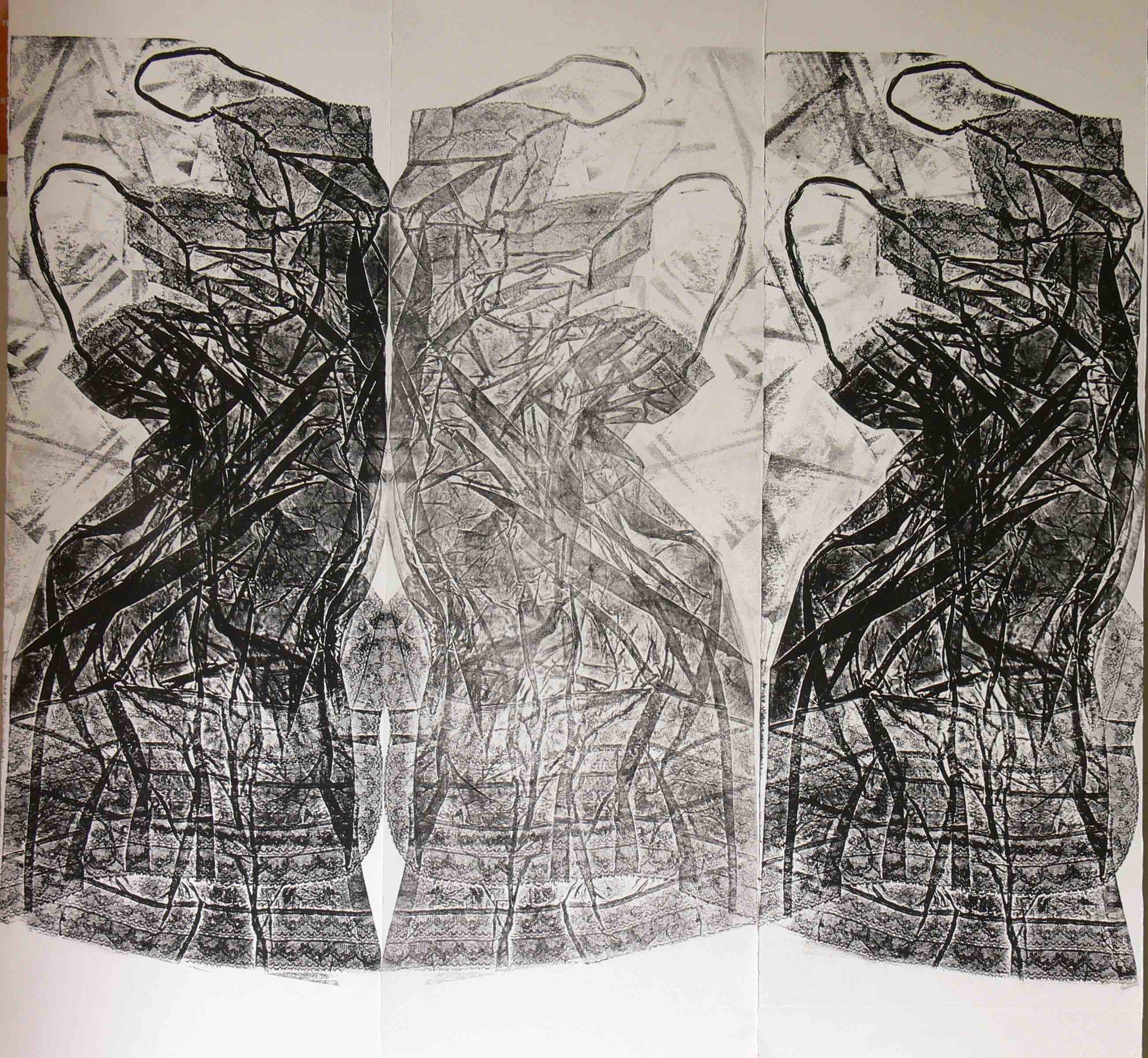 08- E poi le mogli e le figlie e le nuore 2010 collografia e controstampa su carta 121x123,5JPG.jpg