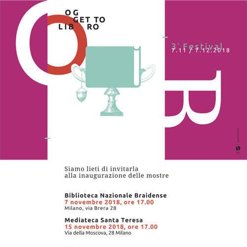 3° Festival OGGETTO LIBRO 2018
