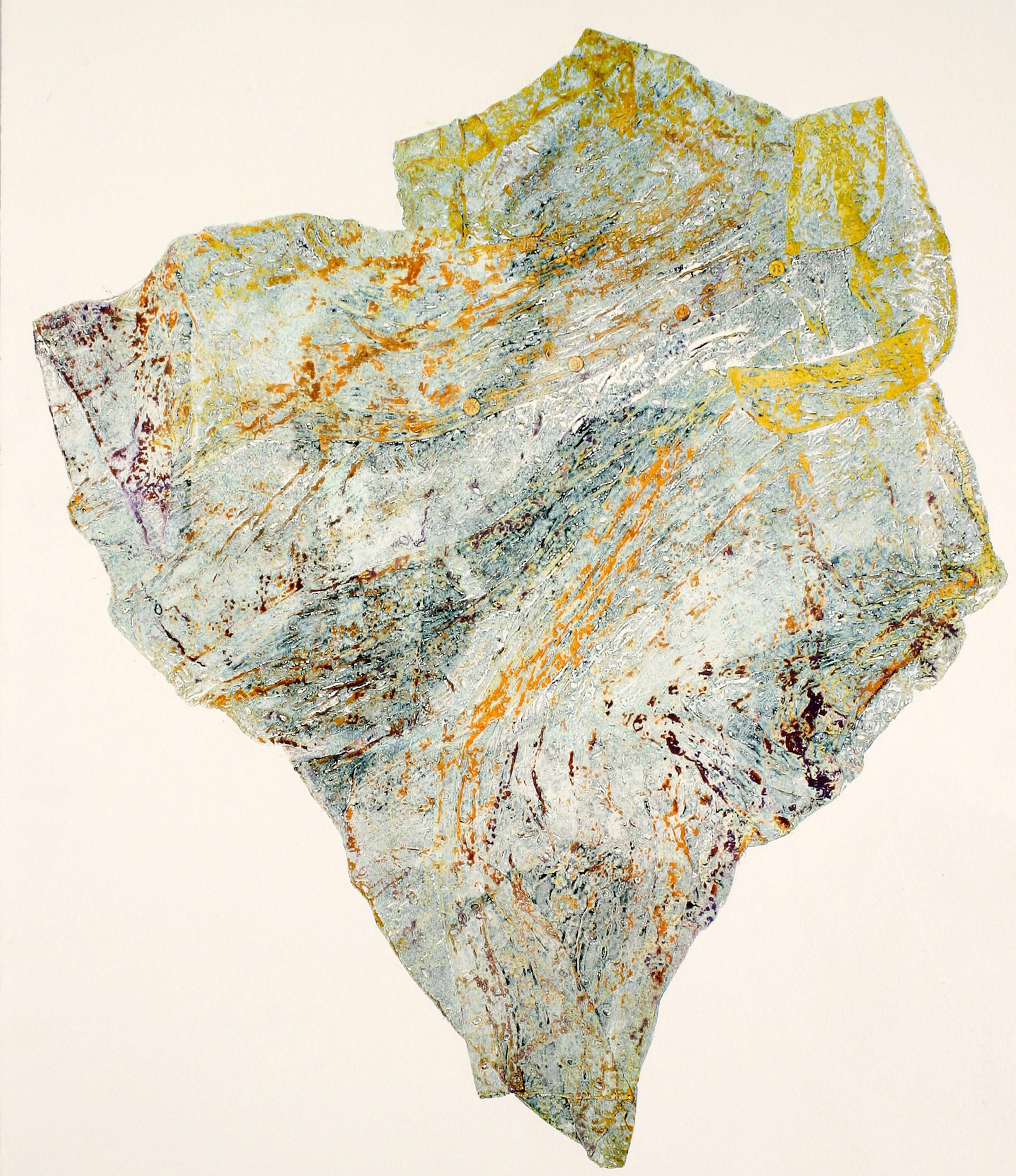 La mia Africa: …come se l'intero bosco vibrasse leggermente  - Monoprint, Carta Bfk Rives, 60x80 cm, 2005