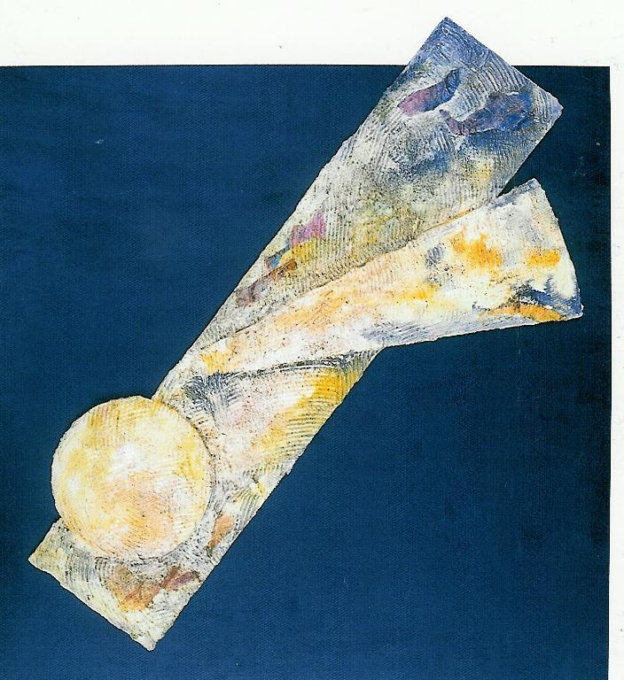 Mondi e poi -  1998, Tecnica mista, 65x60 cm