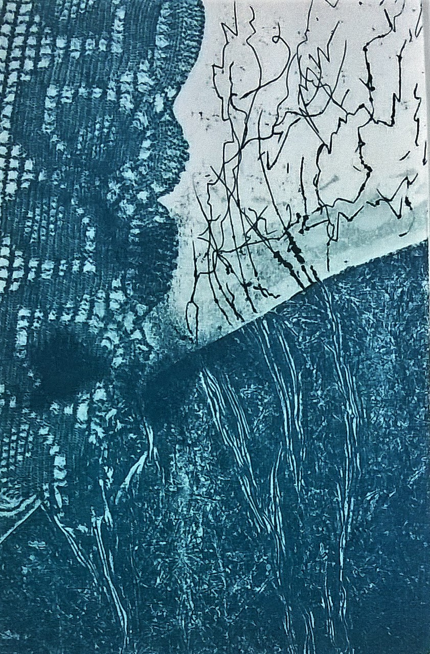 Alla finestra - Acquatinta, acquaforte, ceramolle, 1998, 9,7x14,7 cm