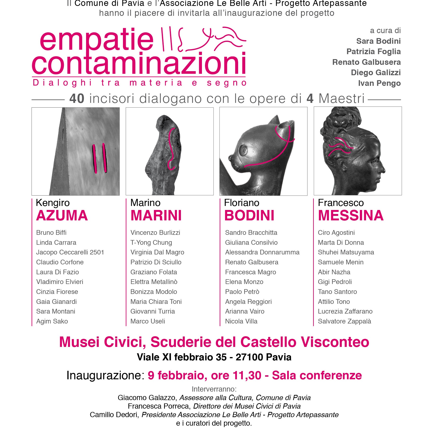 Empatie / Contaminazioni - Pavia