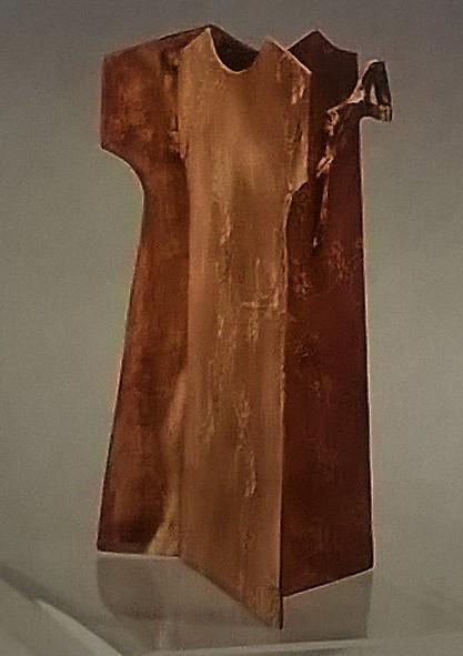 Trame -  2002, bronzo, 40 x 34 cm