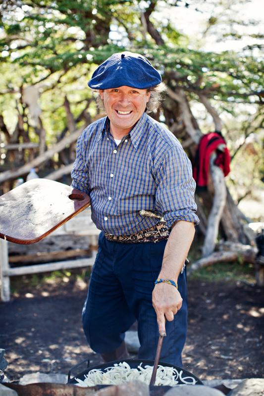 Gaucho in Argentina serving lunch. san diego travel photography, san diego travel photographer, southern California travel photographer, California travel photographer, ca travel photographer