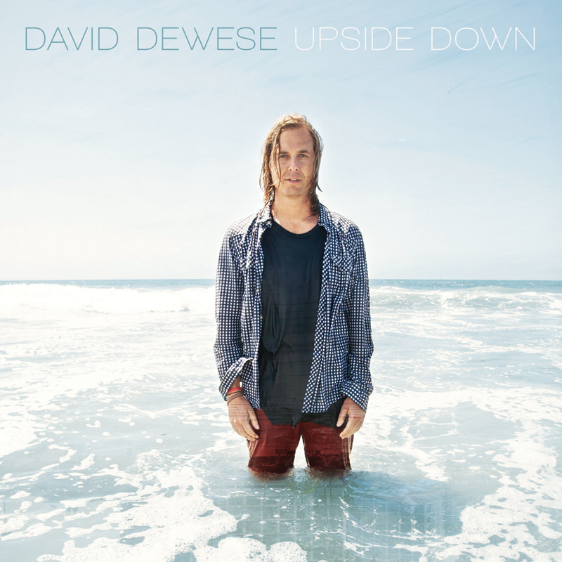 David Dewese Upside Down indie album cover. san diego advertising photographer, san diego advertising photography, southern California advertising photographer, California advertising photographer