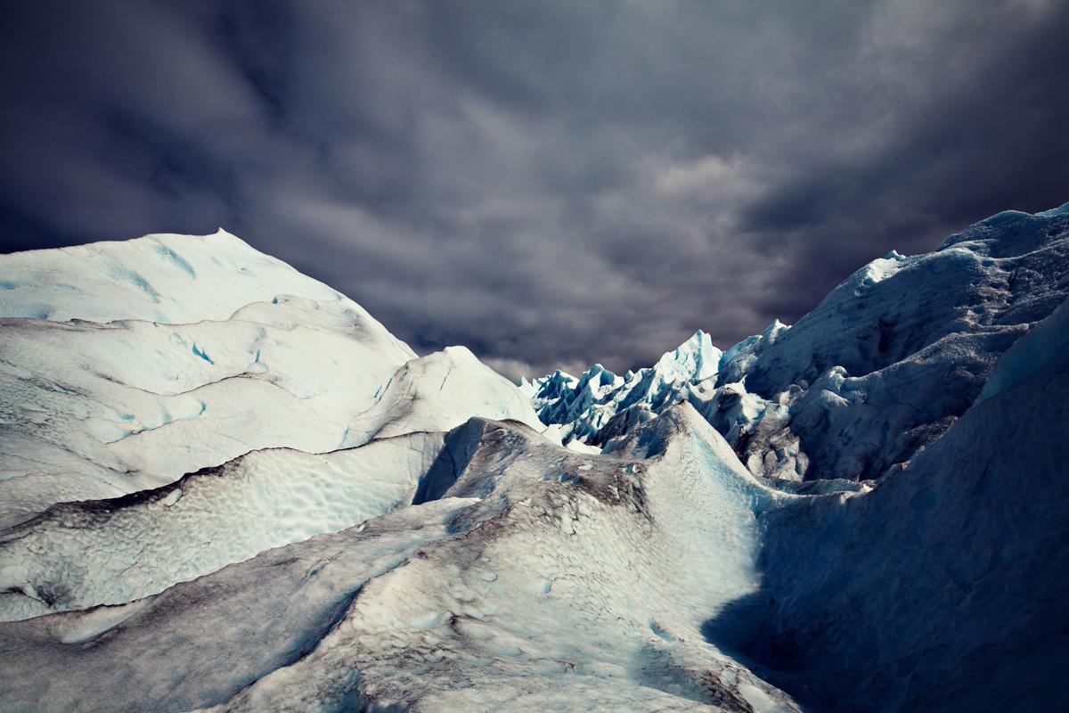 Dramatic photo of Perito Moreno Glacier, Argentina. san diego travel photography, travel photographer, southern California travel photographer, California travel photographer, ca travel photographer