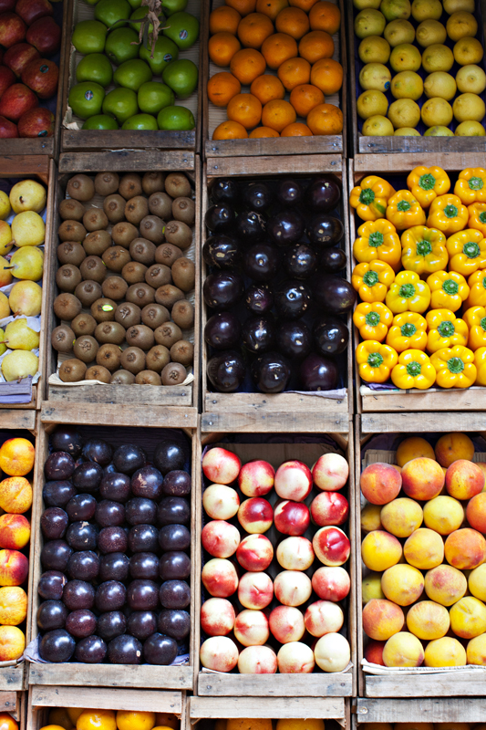 Buenos Aires fruit stand. san diego commercial photographer, san diego travel photography, san diego travel photographer, southern California travel photographer, California travel photographer