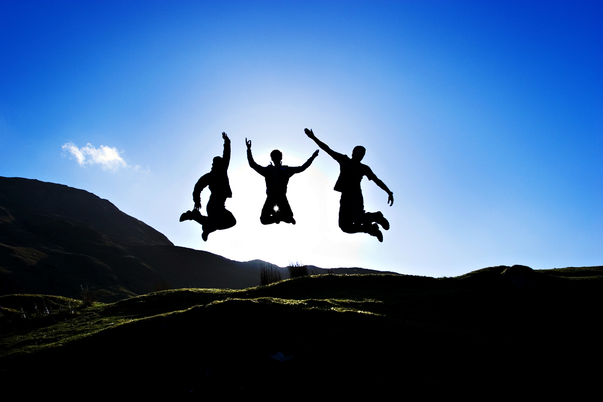 Cool silhouette jumping photo in Ireland. san diego travel photography, san diego travel photographer, southern California travel photographer, California travel photographer, ca travel photographer