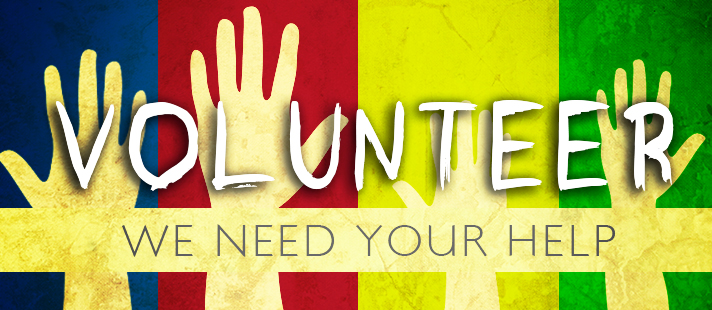 We need your heart and hands! -