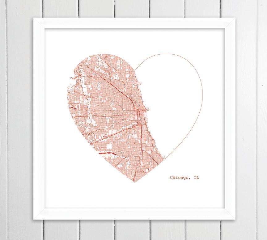 chicago heart framed.jpg