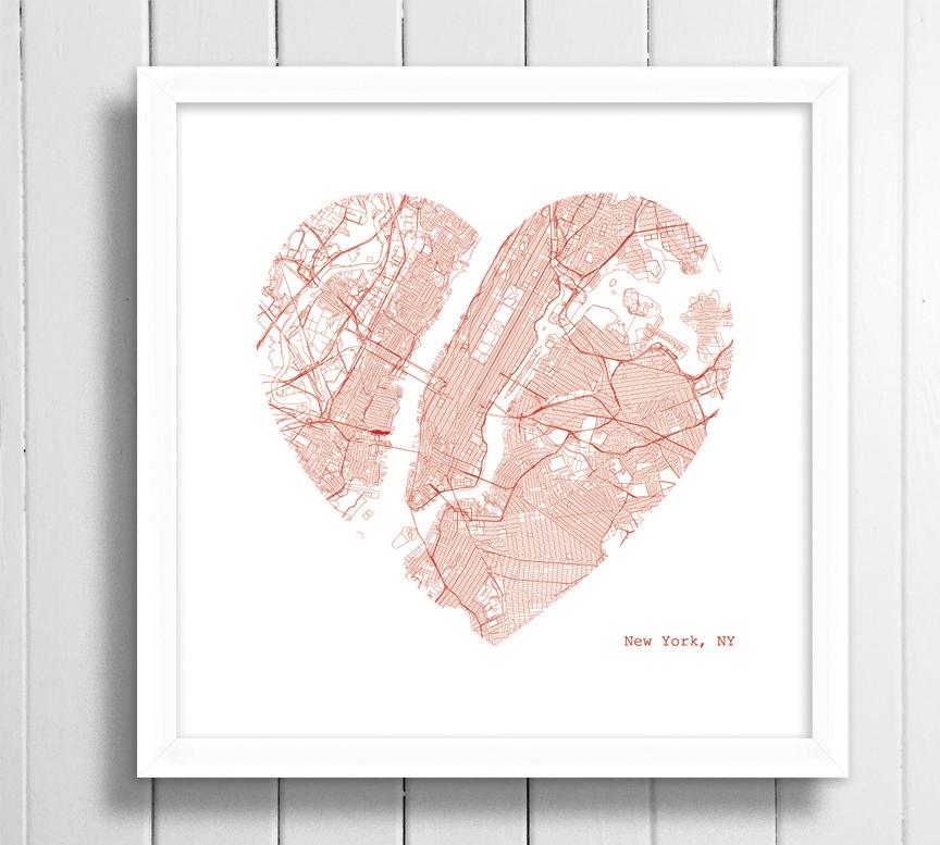 New York heart framed.jpg